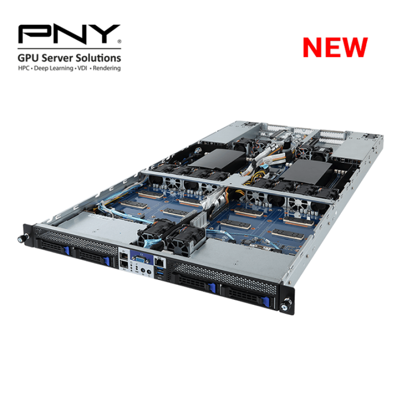Most Compact Grantley 1U NVLink GPU Server for HPC and Scientific