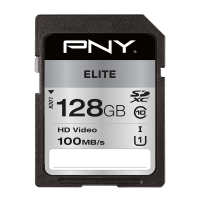 Elite SDXC Memory Card - 128GB