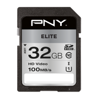 Elite SDHC Memory Card - 32GB