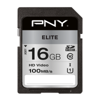Elite SDHC Memory Card - 16GB