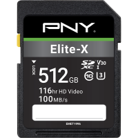 Elite-X SDXC Memory Card - 512GB