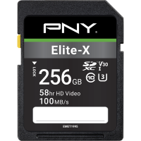 Elite-X SDXC Memory Card - 256GB