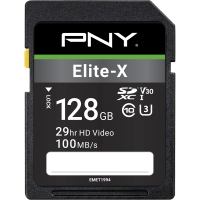 Elite-X SDXC Memory Card - 128GB