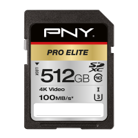 PRO Elite SDXC Memory Card - 512GB