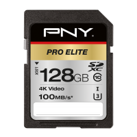 PRO Elite SDXC Memory Card - 128GB