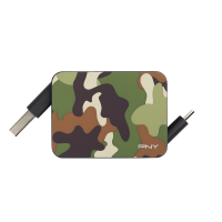 Roll-it Micro-USB Camo Charge & Sync Cable