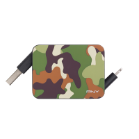 Roll-it Lightning Camo Charge & Sync Cable