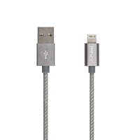 Space Grey Braided Lightning Cable 4ft/1,20m
