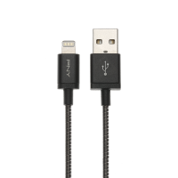 Black Metallic Lightning Cable