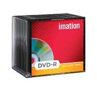 Imation 4.7GB/120-Minute 16x DVD-R, 10 Discs