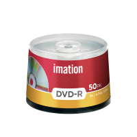 Imation 4.7GB/120-Minute 16x DVD-R, 50 Discs Spindle Base