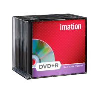 Imation 4.7GB/120-Minute 16x DVD R, 10 Discs