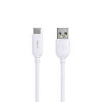 USB-A to USB-C 2.0 White Cable