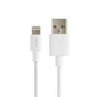 White Lightning Charge & Sync Cable - 4FT / 1,20m