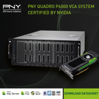 PNY Quadro P6000 VCA System - Certified by NVIDIA